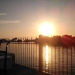 Sunset on Salt Creek, Suwannee Florida