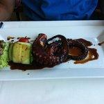 poulpe grillé