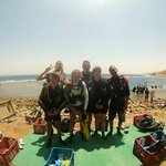 Diving at the Blue Hole, Dahab August, 2014