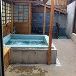 The Sohji hot tub area