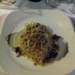 Spaghetti con la ricciola