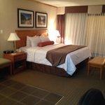 Bedroom of Jacuzzi suite