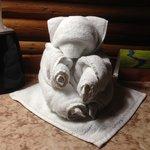 Towel Bear