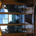 Lobby view looking toward the family pool