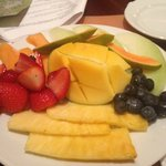 fruit plate at the wave
