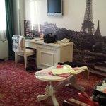 Sala habitacion Paris