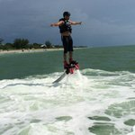 Flying on a flyboard!!