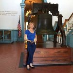 Knott's Independence Hall:Liberty Bell replica weighs only a few pounds less than the original.