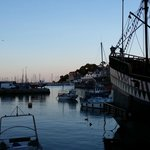 Another view angle of Brixham Harbour - sunset