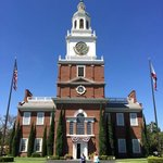 Knott's Independence Hall is an exactly replica of the historic landmark in Philadelphia.