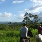 Horseback ride to volcano view point