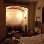 particolare di camera da letto
