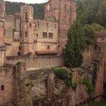 Die Aussenfassade des Schlosses