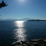 View from Kassiopi on the way to the beach