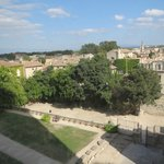 View from the top of Pope's Palace