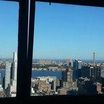Richtung Hudson River und New Jersey