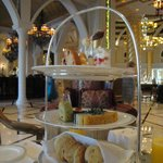 Afternoon tea at Sultan's Lounge