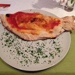Calzone mit Lachs