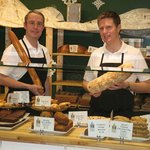 George Kelley & Paul Holje - Co-Owners of the locally owned and operated bakery cafe.