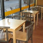 Enjoy your breakfast or lunch in our dining area.