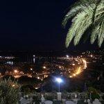 Panorama porto notte