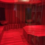 Turkish bath area