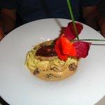 l'entrée : foie gras mi-cuit