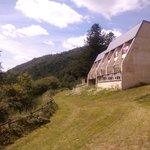 vue d'une des maison/appartements du village