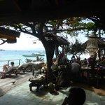 View from restaurant. Lovely!