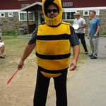 A visit from the bumble bee