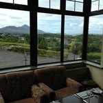 Dinner view of Clew Bay