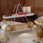 A generous afternoon tea for two