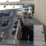 view of the parking structure