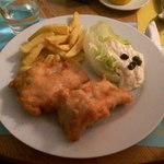 Amazing fish and chips (French fries)