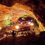 Ceremony platform inside Cave