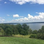 Beautiful view from Washington's porch