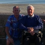 Dad & Gary, St.helier.