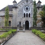 The second church built by the missioners in Bagamoyo.