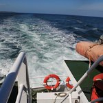 On O'Brien's Ferry heading back from Inisheer, Aran Islands.
