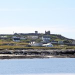 A view of Inisheer (Aran Islands) from O'Brien's Ferry.