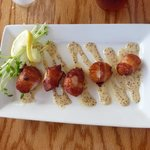 Schaefer's Lejon Scallop Appetizer
