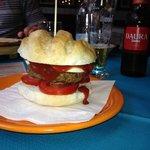 Hamburger gluten free favoloso.
