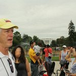 Tim at the Ellipse/White House