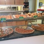 Pizza slices avalible all day