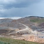 A view of the pit mine at Cripple Creek & Victor Gold Mining Company.