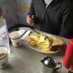 six egg Full House Omelet.