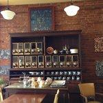William Street Cafe assortment of teas