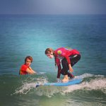 amazing week at the harlyn surf school before i had never surfed, look at me now!!