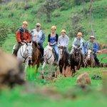 Horse tour Rinconcito Lodge Rincon de la Vieja