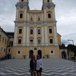 outside the basilica